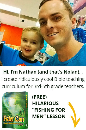 I create ridiculously cool Bible teaching curriculum