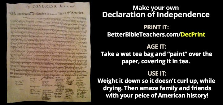 Make-Your-Own-Declaration