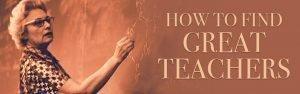 How to find GREAT volunteer Sunday School teachers